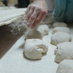 Pétrissage du pain
